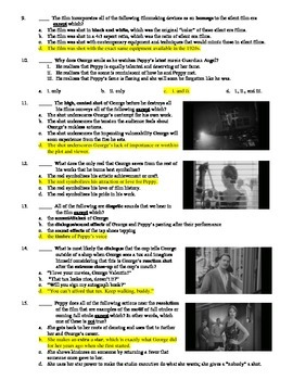 The Artist Film (2011) 15-Question Multiple Choice Quiz