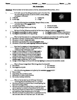 The Artist Film (2011) 15-Question Multiple Choice Quiz