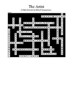 The Artist Film (2011) Review Crossword