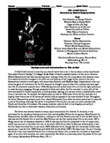 The Artist Film (2011) Study Guide Movie Packet