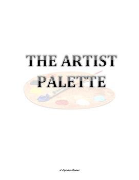 The Artist Palette - colors