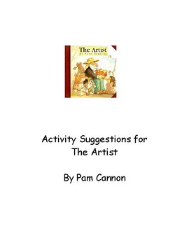 The Artist by John Bianchi. Activity Suggestions