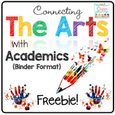 The Arts Across Curriculum - Editable Binder Freebie!