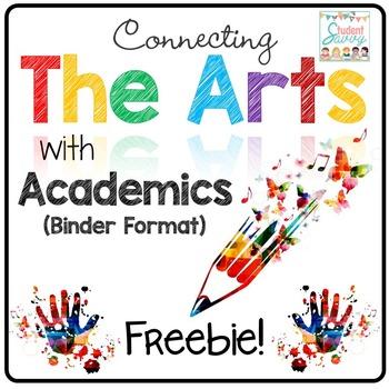 The Arts Across Curriculum - Editable Binder Freebie!
