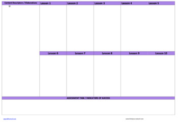 The Arts Forward Planner Year 3 to Year 4