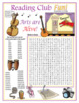 Bundle: The Arts Two-Page Activity Set and Word Search Puzzle