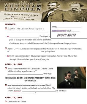 The Assassination of Abraham Lincoln Prezi