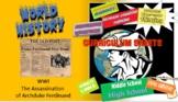 Honors World History - The Assassination of Archduke Franz Ferdinand