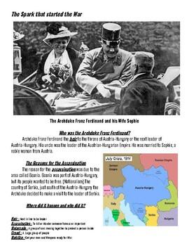 The Assassination of Franz Ferdinand, WWI