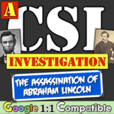 Abraham Lincoln Assassination: A CSI Investigation on Linc