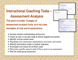 Instructional Coaching Tools -  Assessment Analysis