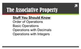 The Associative Property