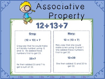 The Associative Property of Addition Lesson Intro