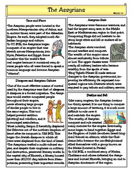 The Assyrian Empire