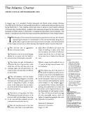 The Atlantic Charter (United States & United Kingdom | 1941)