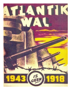 The Atlantic Wall - World War Two Word Search