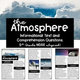 The Atmosphere: Informational Text Passage and Comprehension Questions