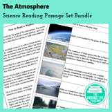 The Atmosphere Bundle: Science Reading Passages and Compre