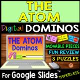 The Atom DIGITAL DOMINOS for Google Slides