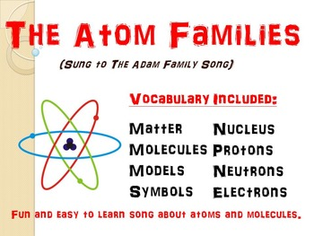 The Atom Family Song and Rap