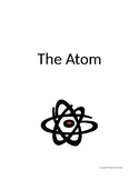 The Atom Unit Worksheet Packet