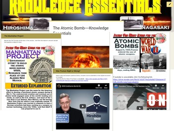 The Atomic Bomb (WWII) Knowledge Essentials