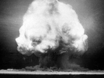 "The Atomic Bomb Slideshow: ""We Interrupt this Broadcast"""