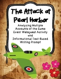 The Pearl Harbor Attack: Multiple Accounts of the Same Event Webquest