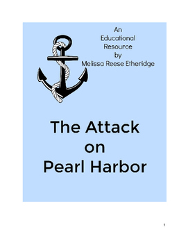 The Attack on Pearl Harbor Close Read