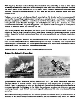 WWII: World War Two Attack on Pearl Harbor Reading, Docs, essay