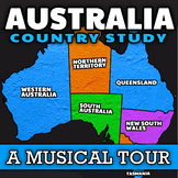 The Australia Geography Song ★ Video-Based Australia Count