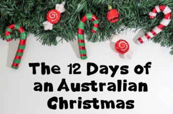 The Australian 12 Days of Christmas - task cards - Christmas song