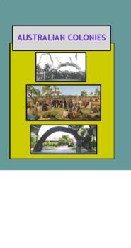 History of Australia: Australian Colonies: a simulation an