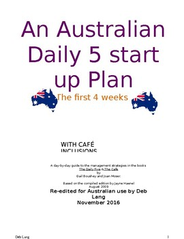 The Australian Daily 5 for Dummies