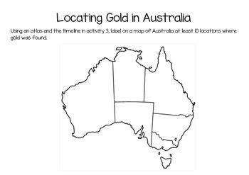 The Australian Gold Rush Mini Activity Pack