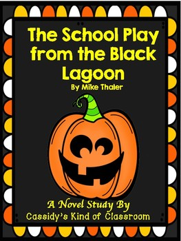 The Author Visit from the Black Lagoon Novel Study and Activities