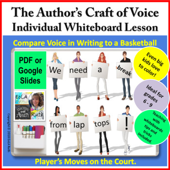 The Author's Craft of Voice | Individual Whiteboard Lesson