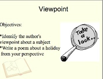 The Author's Viewpoint About a Subject
