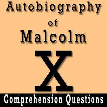 """""""The Autobiography of Malcolm X"""" - 10 Comprehension Questions with Key"""