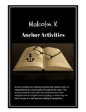 The Autobiography of Malcolm X Anchor Activities