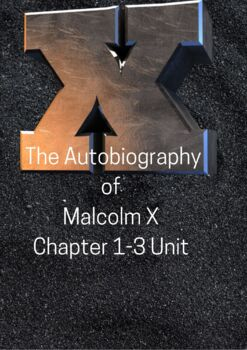 The Autobiography of Malcolm X as told by Alex Haley Chapter 1-3 Unit Activities