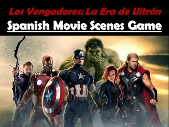 The Avengers: Age of Ultron - Spanish Movie Scenes Game -