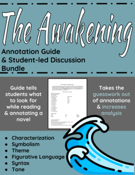 The Awakening Annotation Guide and Student-led Discussion Bundle