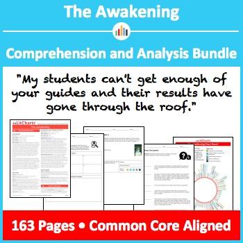 The Awakening – Comprehension and Analysis Bundle