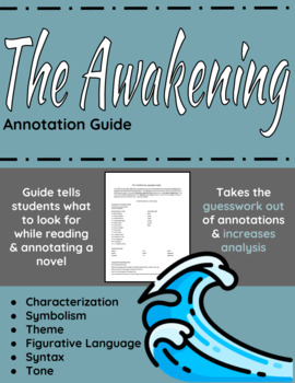 The Awakening (Annotated): Classroom Edition