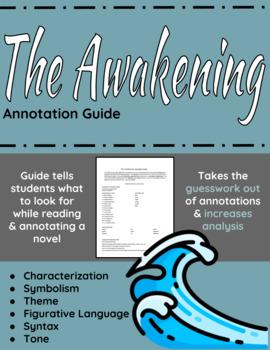 The Awakening annotation guide