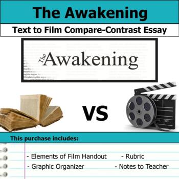 The Awakening By Kate Chopin  Text To Film Essay By S J Brull  Tpt The Awakening By Kate Chopin  Text To Film Essay