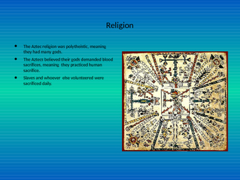 The Aztec Empire Powerpoint