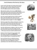 The Aztecs (8) - Poem, Worksheets, Puzzle