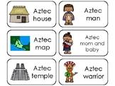 The Aztecs Printable Flashcards. Preschool-3rd Grade Ancie